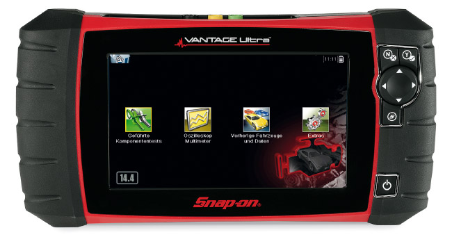 Snap-on Tools by Jesco Günther - Snap-on Diagnosegerät VANTAGE Ultra